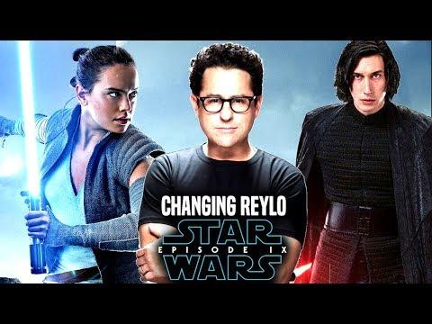 Star Wars! JJ Abrams Changing Reylo In Episode 9! (Star Wars News)