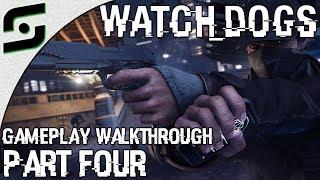 Watch Dogs - Gameplay Walkthrough - Part 4 - GETAWAY DRIVER (Xbox One)