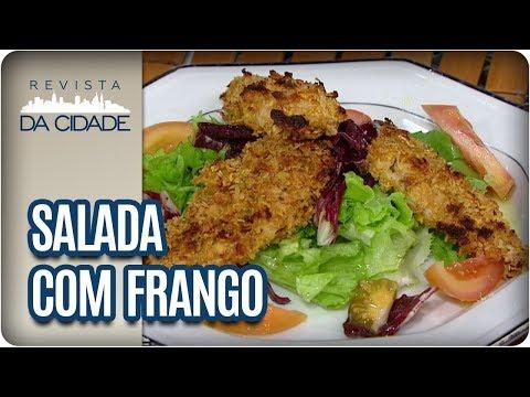 Receita De Salada Com Frango Crocante - Revista Da Cidade (23/10/2017)
