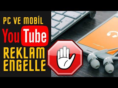 PC ve MOBİL YOUTUBE VİDEO REKLAM ENGELLEME | Youtube Reklam Kaldırma | Chrome, Opera, Telefonda