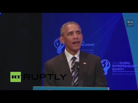 LIVE: Obama and Zuckerberg to speak at GES 2016 summit