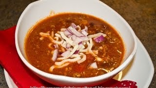How to make Best Beef Chili
