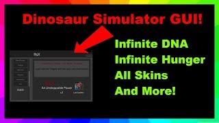 [✔️ARBEITEN] Dinosaurier-Simulator-GUI! Unendliche DNA, Hunger + mehr! (ROBLOX)
