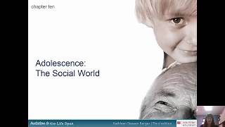 Adolescence The Social World Chapter 10 PS 223B