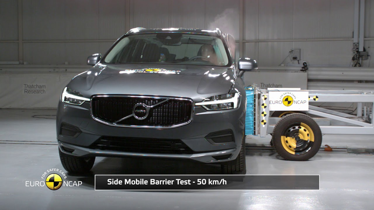 Euro Ncap Crash Test Of Volvo Xc60