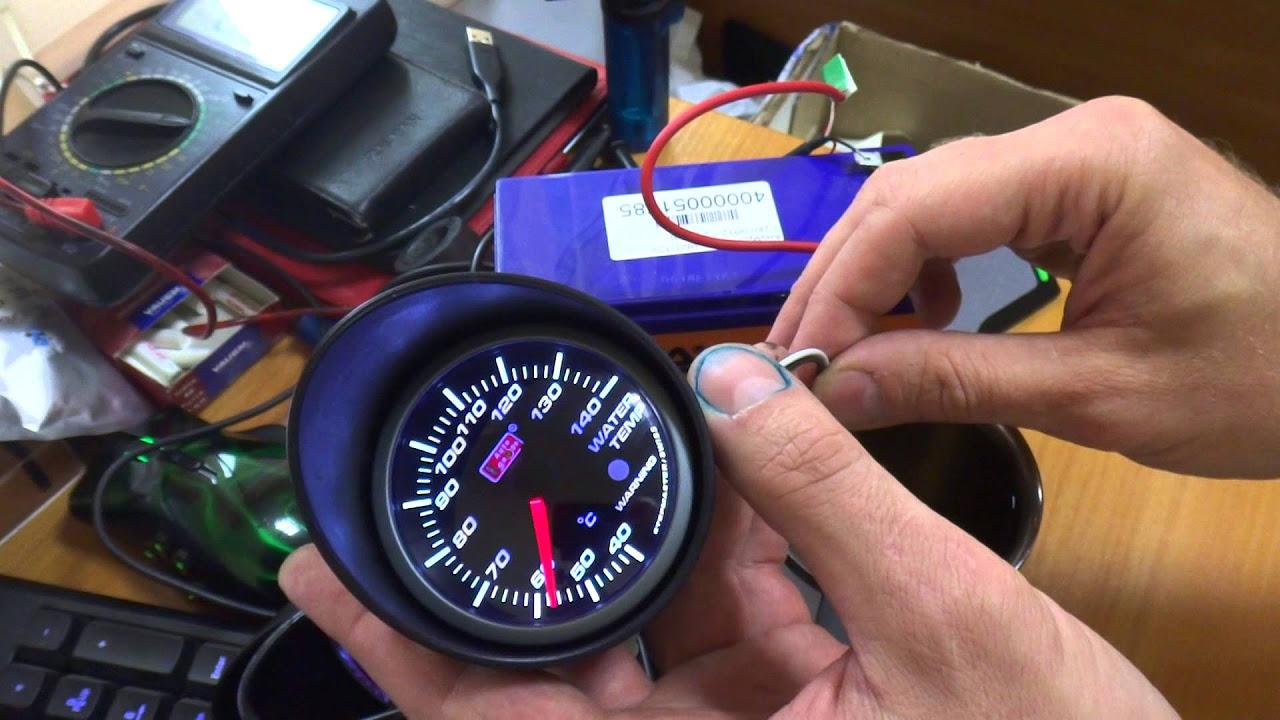 схема подключенияманометр давления масла камаз
