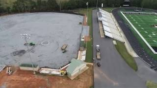 T.L. Hanna High School: Baseball & Softball Field Upgrades October 9th, 2018