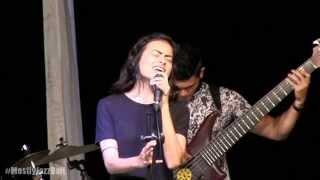 Indra Lesmana Group ft. Eva Celia - Aku Disini Untukmu @ Mostly Jazz in Bali 26/04/15 [HD]