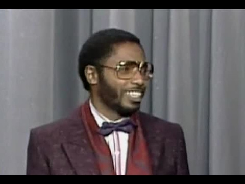 Comedian Franklyn Ajaye, Tonight Show, 1988 - YouTube
