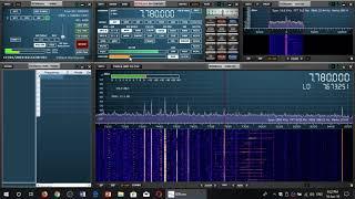 Radio Prague relayed by WRMI 7780 Khz with fair signal on Sdrplay RSP1A Receiver