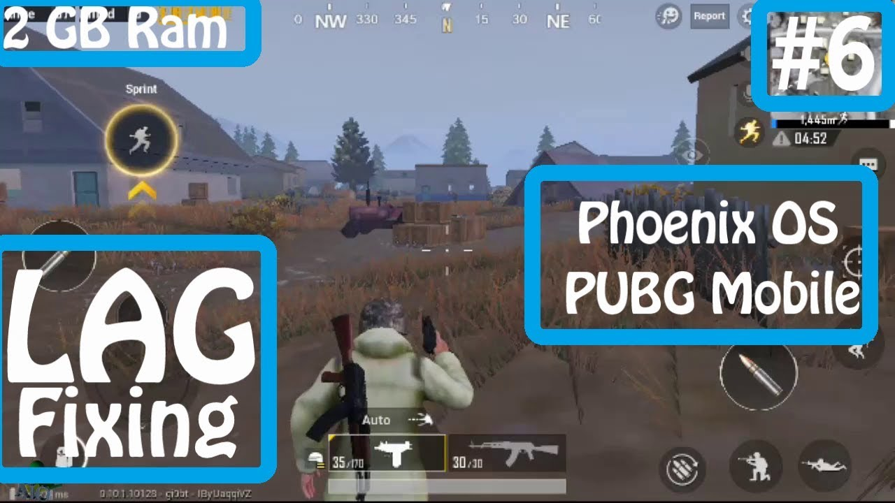 Increase Fps In Pubg Mobile And Fix The Lag: Phoenix OS PUBG Mobile Lag , Glitch , Bug Fix And Increase