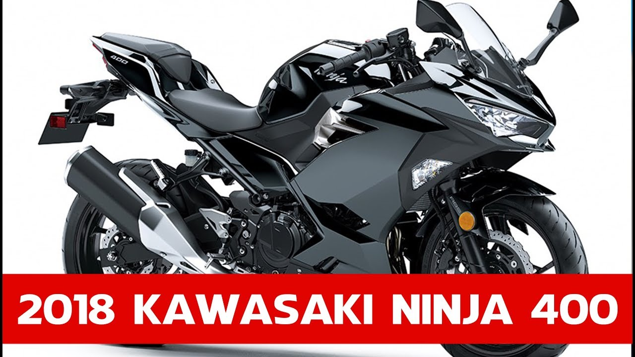 all new for 2018 kawasaki ninja 400 kawasaki unveil new for 2018 ninja 400 youtube. Black Bedroom Furniture Sets. Home Design Ideas