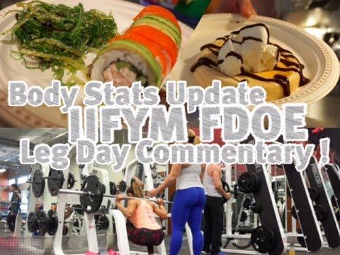 -11lbs In 2 Days!? | New Macros | IIFYM FDOE | Leg Day Commentary !