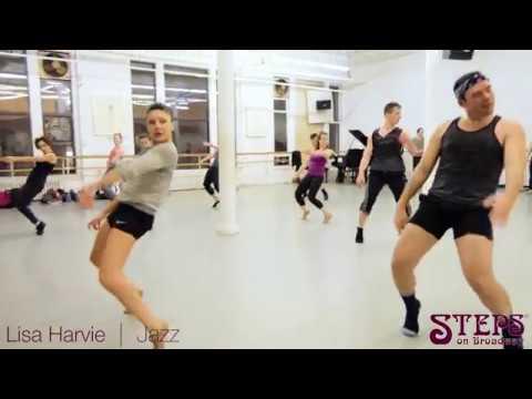 Lisa Harvie   Jazz   Steps on Broadway