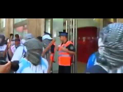 ANTI-British RIOTS in the ARGENTINE Capital (BRITISH Property UNDER ATTACK)