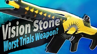 WORST TRIALS WEAPON? Vision Stone (Adept) Auto Rifle | Destiny (Rise of Iron)