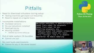VirtualEnv in the Enterprise Environment - Python SG Meetup