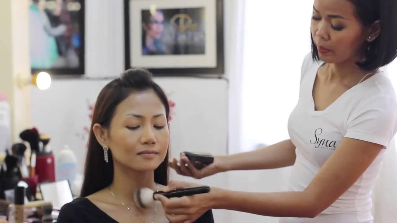 Syna Makeup School Tutorial (Khmer/ Cambodian) - Classic Makeup ...
