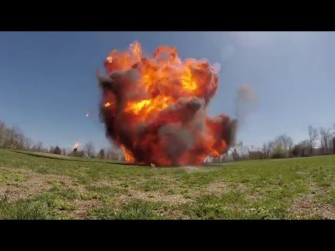 BOOM! See explosions created using household chemicals