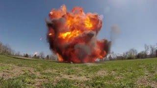 بوم! انظر الانفجارات التي تم إنشاؤها باستخدام المواد الكيميائية المنزلية