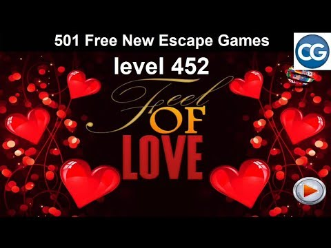 [Walkthrough] 501 Free New Escape Games Level 452 - Feel Of Love - Complete Game