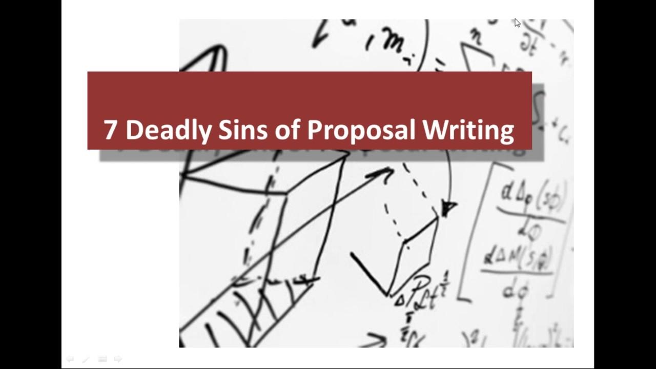 how to write a persuasive proposal