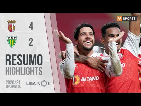 Braga Tondela Goals And Highlights
