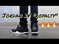 "AIR JORDAN RETRO IV 4 ""ROYALTY"" ON FEET & OUTFIT"