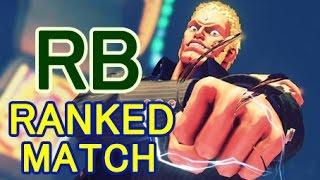 【スト5】SF5 ▰ RB(Urien) Ranked Match【台湾プロRBの強すぎユリアン】
