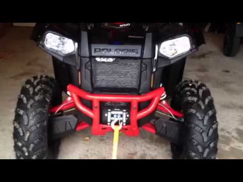 Polaris scrambler 850 - YouTube
