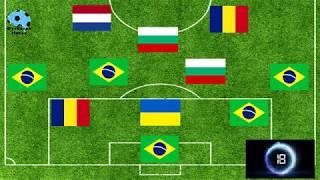 ФЛАГ ТИМ - ПОЗНАЙ ФУТБОЛНИЯ ОТБОР (ЧАСТ 1) / FLAG TEAM - GUESS THE FOOTBALL TEAM (PART 1)