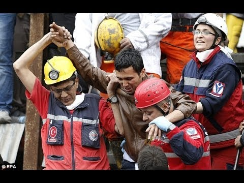 TURKEY MINE DISASTER.. 301 dead..
