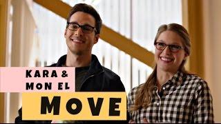 kara & mon el || move (humor)