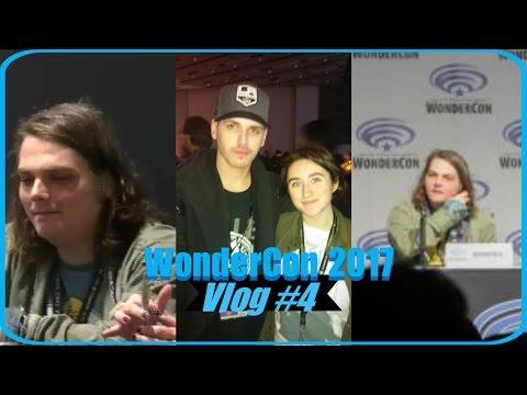 Seeing Gerard and Mikey Way at WonderCon 2017 Vlog #4