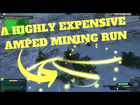 Entropia Universe: A 200 Ped HIGHLY AMPED  Mining Run On Calypso