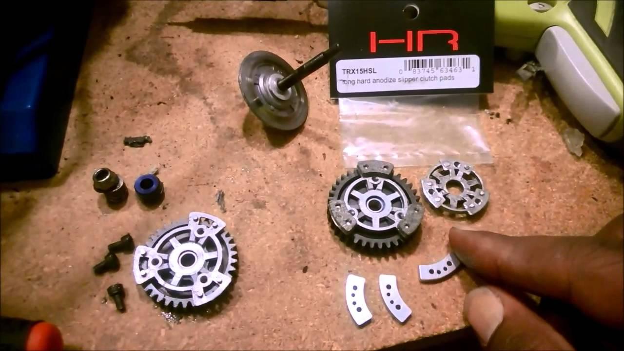 New! Traxxas Hot-Racing TRX15HSL Long Hard Anodize Slipper Clutch Pads