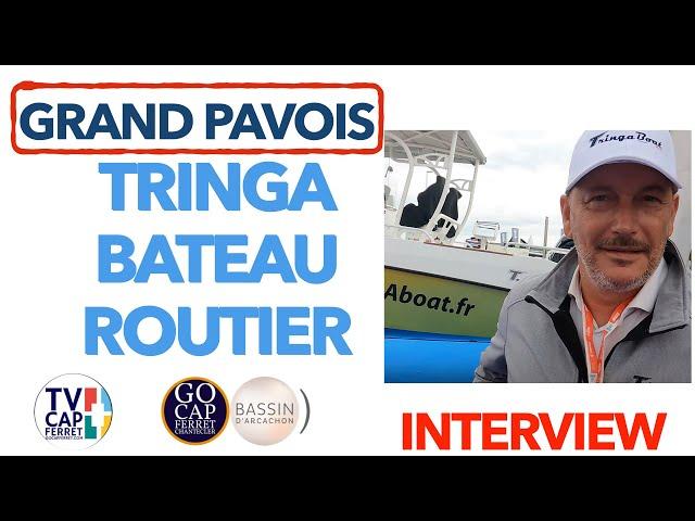Grand Pavois La Rochelle 2021 #7 Interview Christophe présente le TRINGA le seul Bateau Routier