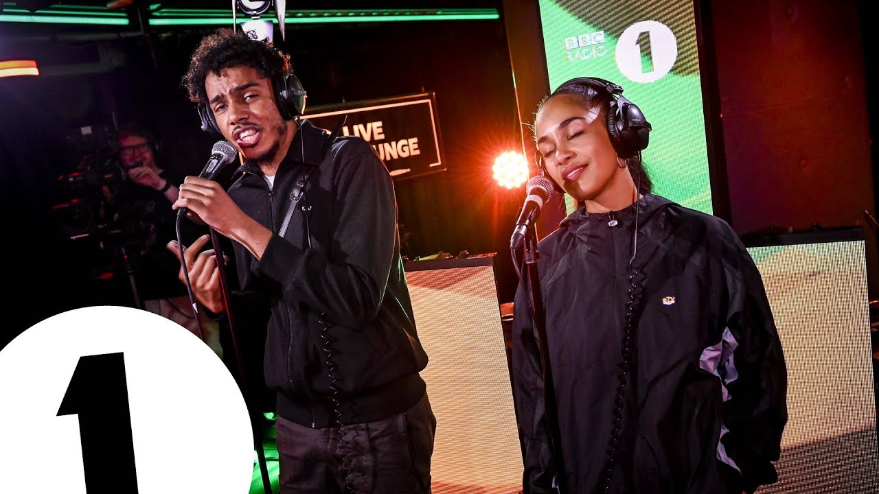Download AJ Tracey & Jorja Smith cover Flowers (Sunship Remix) in the Live Lounge