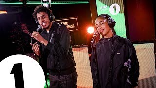 AJ Tracey Jorja Smith Cover Flowers Sunship Remix In The Live Lounge