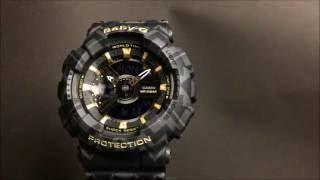 CASIO BABY-G カシオ腕時計ベビーG 限定品 BA-110TP-1AJF