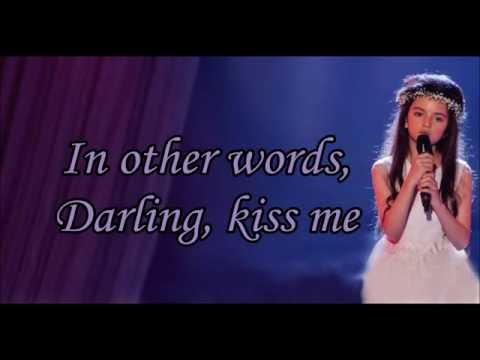 Angelina Jordan - Fly Me To The Moon (Lyrics)