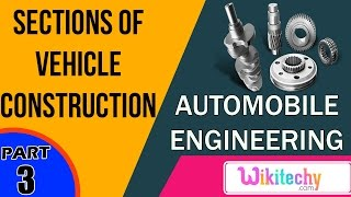 Two main sections of vehicle construction | Automobile Interview questions | Automobile Engineering