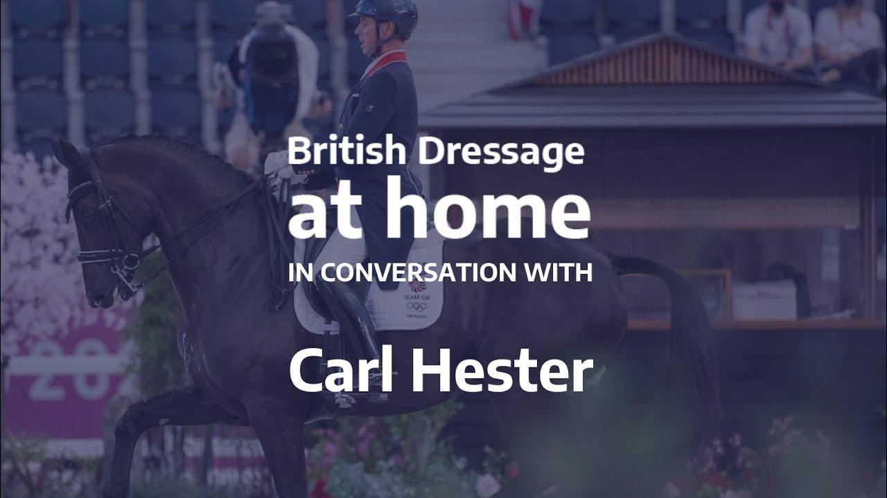 Carl Hester répond aux questions de ses fans