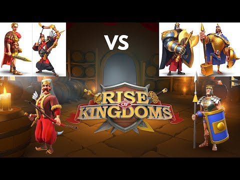 Julius Caesar With YSG Vs Richard I And Charles Martel - Part 1 - Rise Of Kingdoms