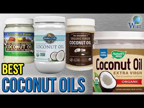 10 Best Coconut Oils 2017