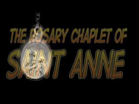 ROSARY CHAPLET OF SAINT ANNE