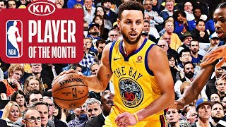 Stephen Curry | Kia Player of the Month | January 2018