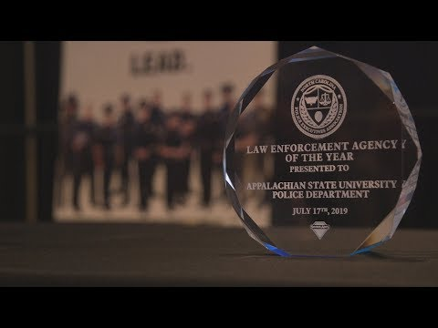 Appalachian Police Department Named NCEPA's Law Enforcement Agency Of The Year
