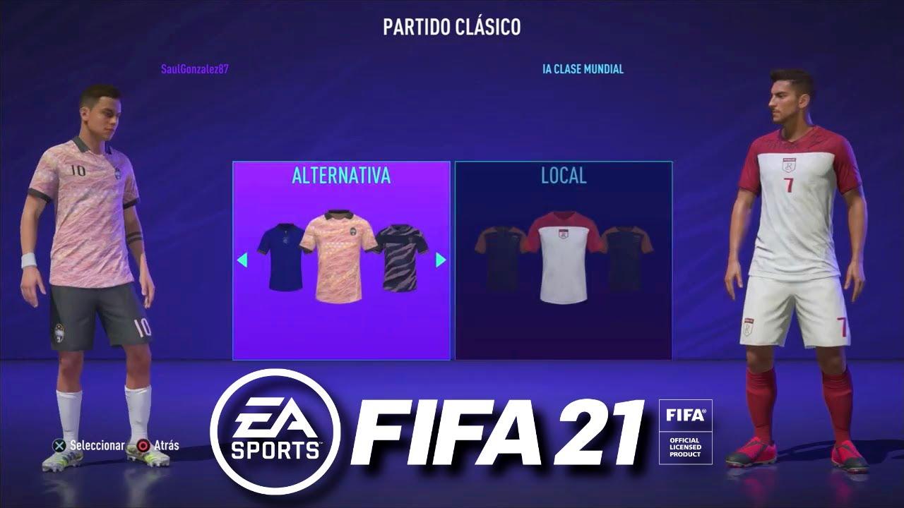 FIFA 21 - Piemonte Calcio vs Roma FC - 20/21 Kick Off - Full Match &  Gameplay - YouTube