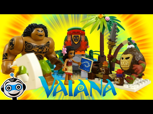 Vaiana - Moana y Maui devuelven el corazón de la diosa Te Fiti